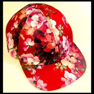 New Gucci Blooms Red Maroon Cap Hat